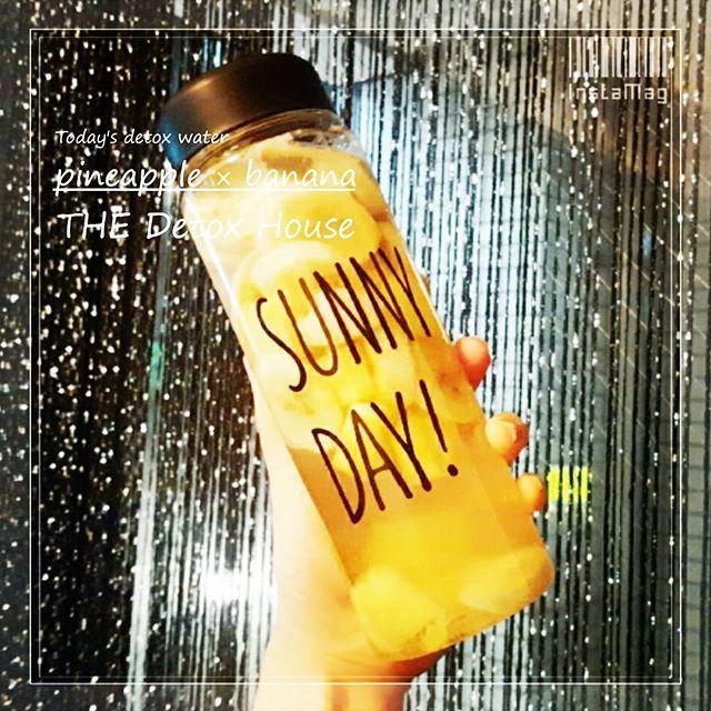 2016/10/29 21:10:01 detox.house ♥. 本日のデットクスウォーターです🍹🌺🌺. . #バナナ #banana #パイナップル #pineapple #はちみつ #honey  #水素水 #hydrogenwater . .  本日は🍯🍍食物繊維たっぷり果実🍌🍯 の美肌アンチエイジングウォーターです💓. . . ✴✨水溶性食物繊維✨✴が含まれているので 脂肪の吸収を防いでくれるのでダイエット効果もあります💓. . . そして、2種類のフルーツともに✴✨水溶性ビタミン✨✴が たーっぷり含まれてるので、美肌にぴったりです💎✨✴. . もちろん他にも嬉しい💎✨美容栄養素✨💎が 豊富に含まれてます💓💓💓 . 是非お早めのご予約・ご来店お待ちしております🙌🙌🙌💕. . . . . . ※通常は使い捨て容器での販売をしておりますが  ジャーでの販売もしております♥. (※ジャーでの販売の場合、別途かかります). . . . 🍊🍋🍐🍏🍌🍑🍇🍊🍋🍐🍏🍌🍑. THE Detox House…
