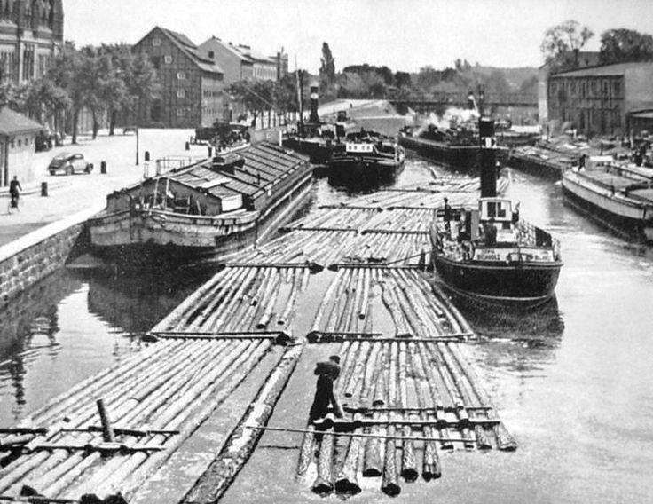 Brda River, Bydgoszcz/Bromberg, 1910