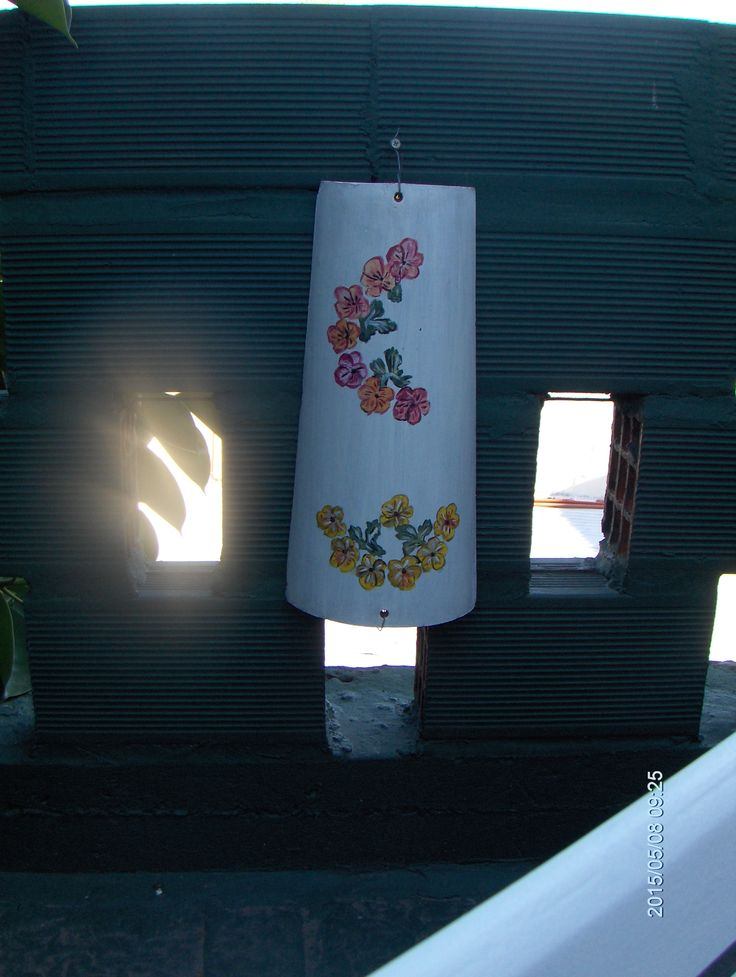 Tejas pintadas para decorar