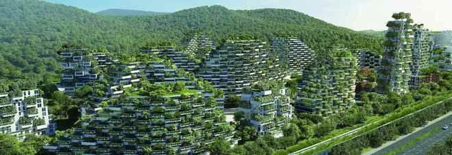 Cina, nasce la prima città foresta: il progetto è Made in Italy – Nicola Noe