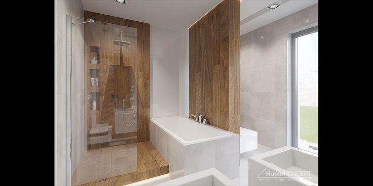 Projekt domu HomeKoncept 26 - aranżacja wnętrza www.homekoncept.pl #projektdomu
