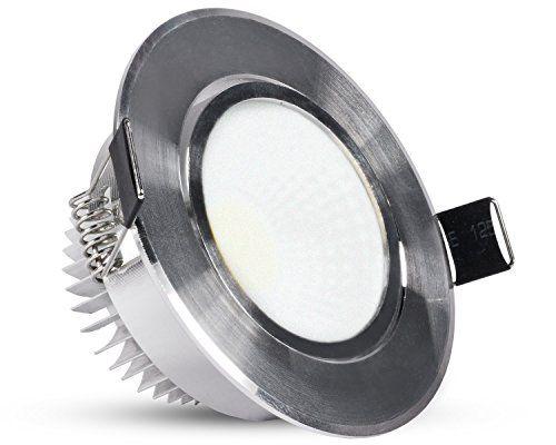 http://ift.tt/1ScgFMx Dimmbarer COB LED-Einbau-Strahler Spot rund milchig Alu silber 6W 500 Lumen  Super Flach: Nur 50mm Höhe in Warmweiß 3000K dimmbar #vaali$