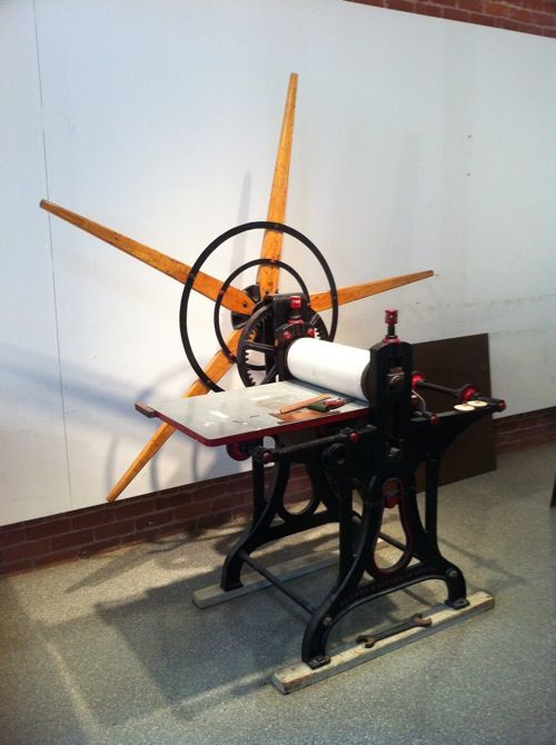 crown point etching press
