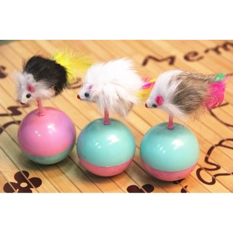 #LePETitstore Bola con miniratón |  Juguete para #gatos #TiendaOnline