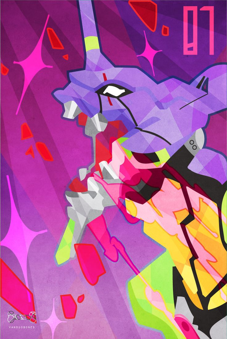 Eva Unit 01 by vanduobones.deviantart.com on @DeviantArt #evangelion