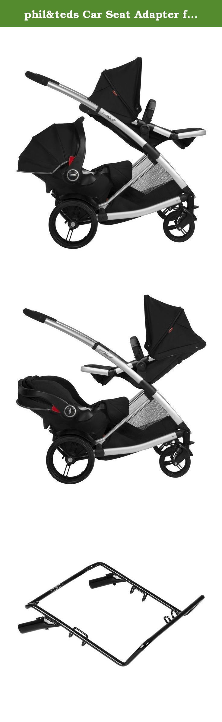 phil&teds Car Seat Adapter for Graco Click Connect and