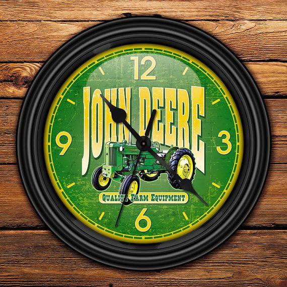 JOHN DEERE Lawn & Garden Tractor Decorative Wall by GoodTiming, $18.50