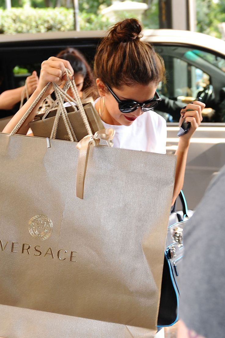 Retail Therapy...Versace?...more like Macy's for my budget...and I am happy with that.
