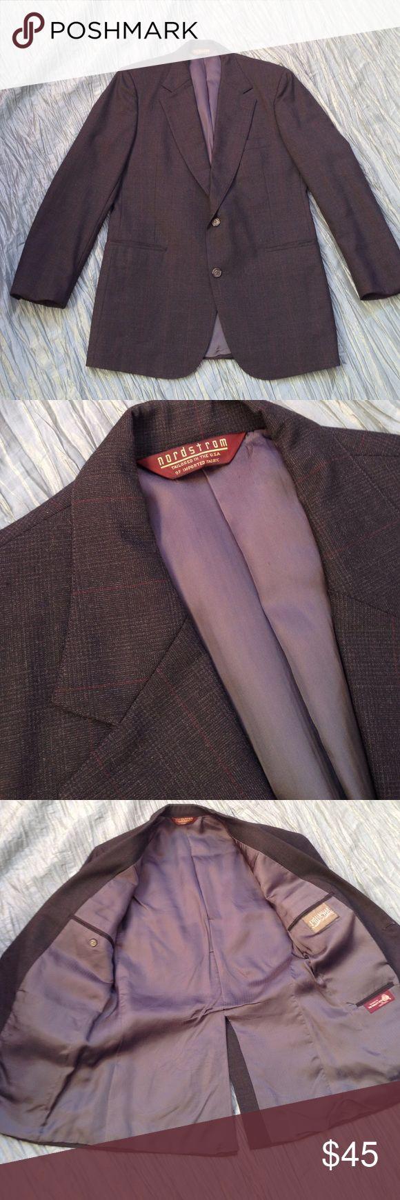 Nordstrom suit jacket Dark charcoal grey suit jacket. Fully lined. 39/33 Regular. Nordstrom Suits & Blazers Sport Coats & Blazers