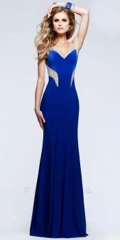 Scattered sequin prom dresses by Faviana