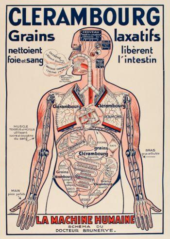vintage medical poster