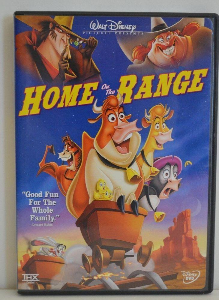 Dvd Movie Home On The Range 2004 Walt Disney Movie S Magic More Pg Walt Disney Movies Disney Movies Home On The Range