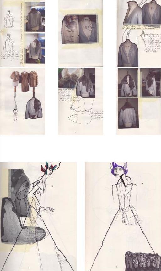 Fashion Sketchbook - fashion design sketches, tailoring development, fashion portfolio // Julius Arthur