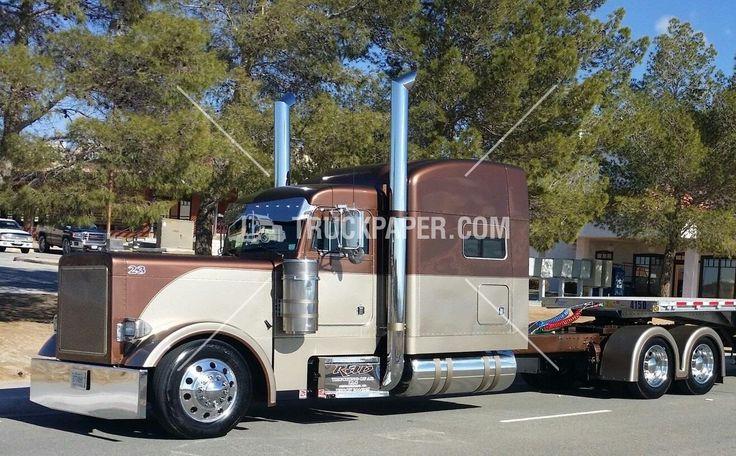 2001 PETERBILT 379 Heavy Duty Trucks $65,000 - Flatbed Trucks For Sale At TruckPaper.com