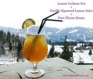 Lemon Verbena Tea Tonic