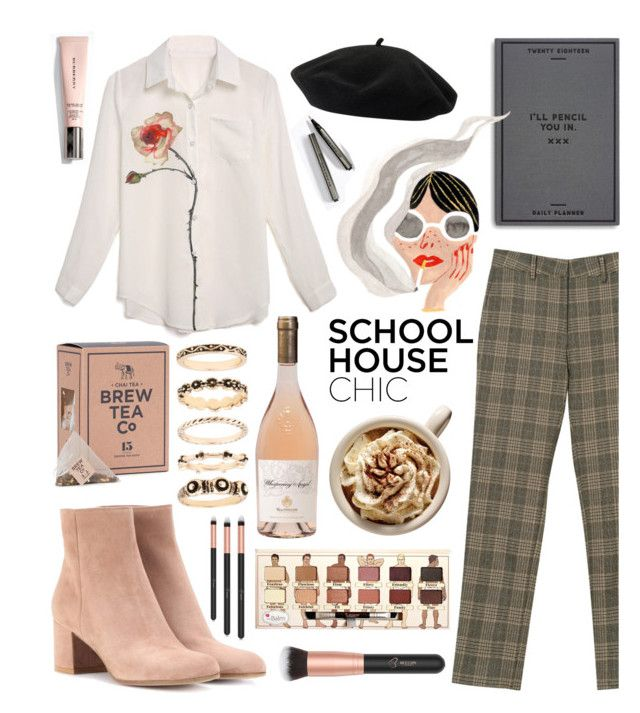 """""""Pastel chic"""" by cinnamon-keks ❤ liked on Polyvore featuring Easy, Tiger, Goorin and Gianvito Rossi"""