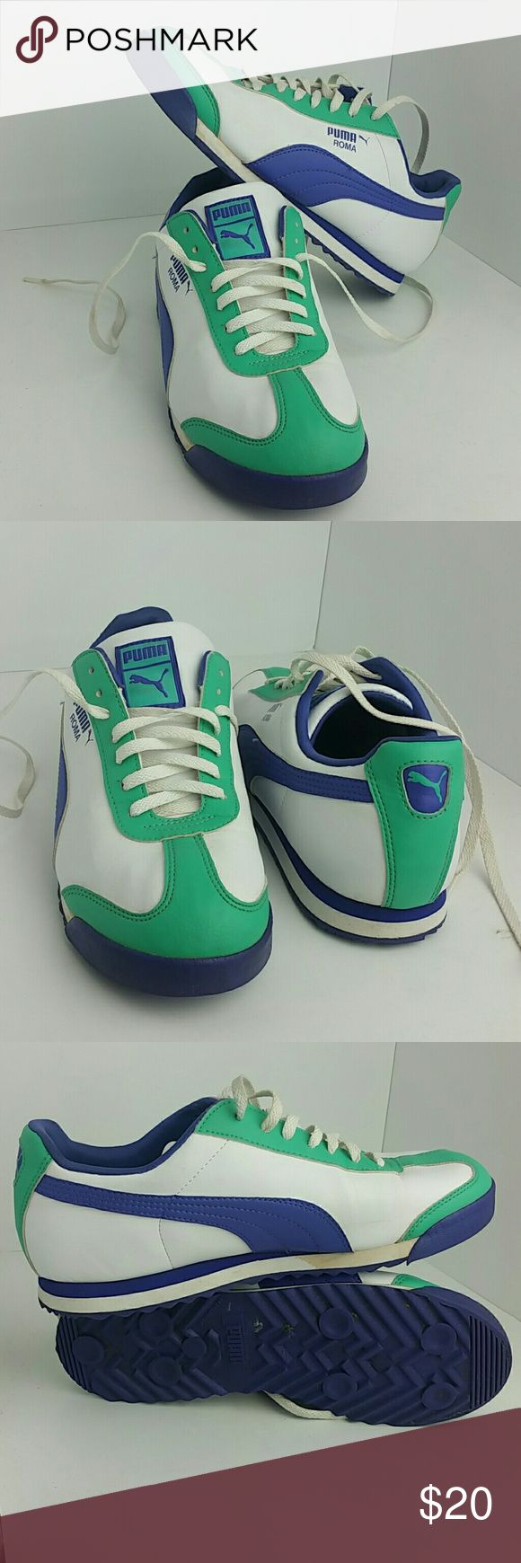 PUMA ROMA WOMEN SHOES VERY CLEAN INSIDE-OUT   SKE # UV puma  Shoes Athletic Shoes