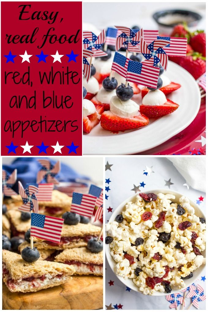 july 4th snack recipes