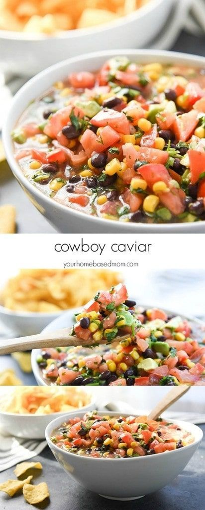 Cowboy Caviar, Texas Caviar, black bean salsa, or Southwestern bean dip, this is a classic and makes frequent appearances at our summer cookouts!     COWBOY CAVIAR (AKA TEXAS CAVIAR) RECIPE