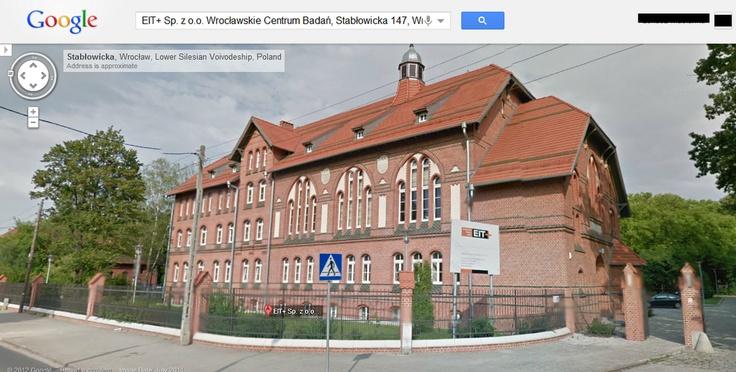 A tak właśnie wyglądamy w usłudze Google Street View :)