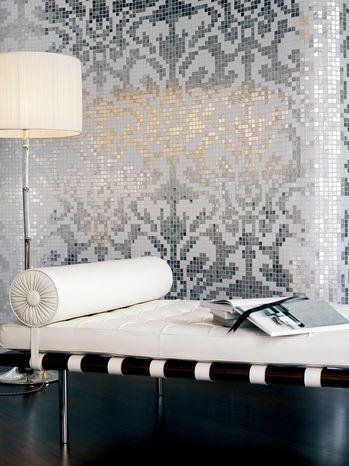 Damasco Oro Bianco #Bisazza #mosaic #residential