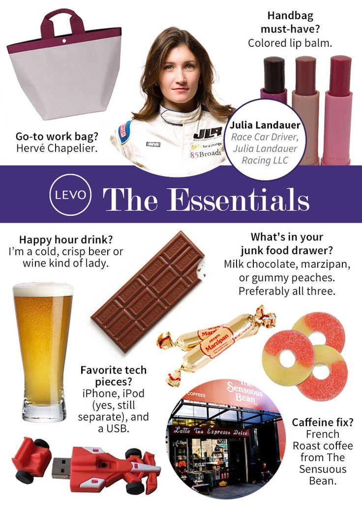 """The #Essentials: Julia Landauer, Race Car Driver and """"Survivor"""" Contestant"""