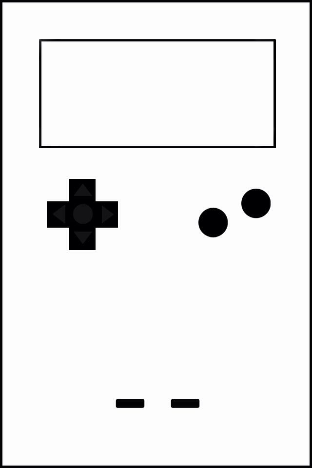 GameBoy Color LockScreen Wallpaper  | iPhone 4s Made by me☝