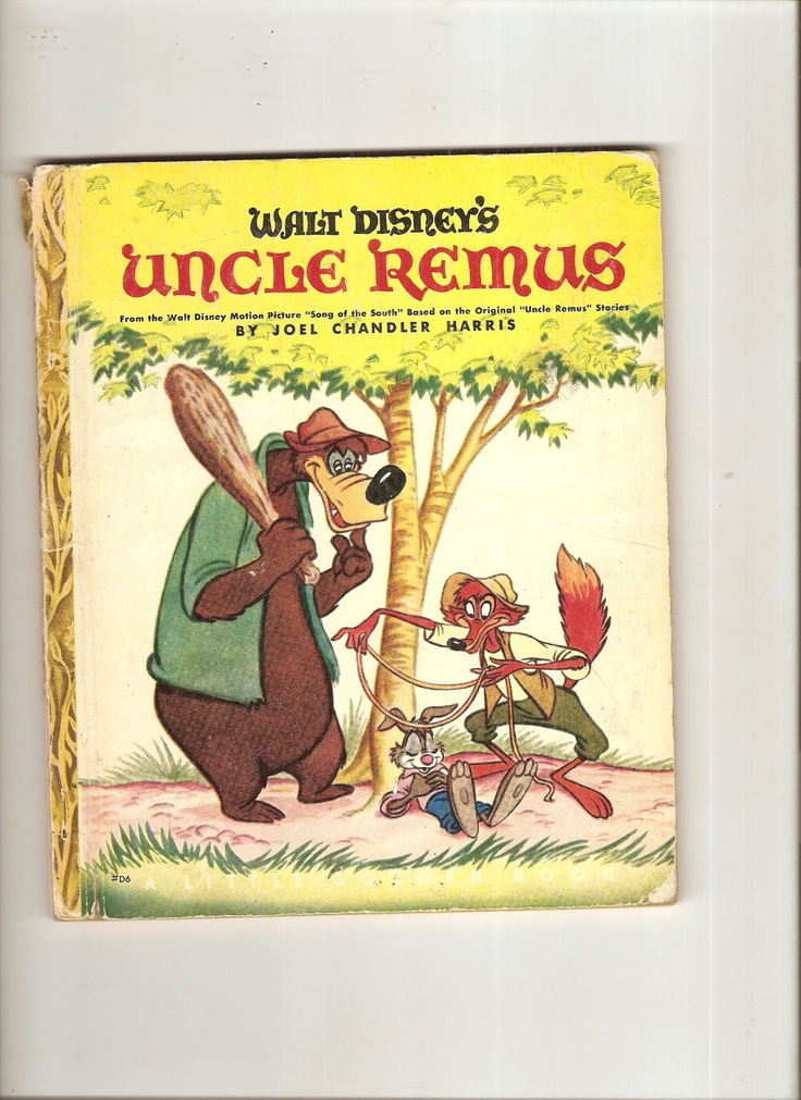"Vintage Little Golden Book Uncle Remus 1947-48 ""G"" Ed. Walt Disney book from ""Songs of the South""."