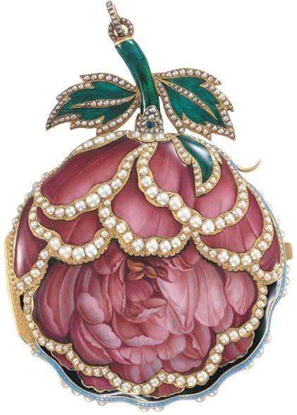 Rose repeater watch.Piguet & Meylan, Geneva c 1820.