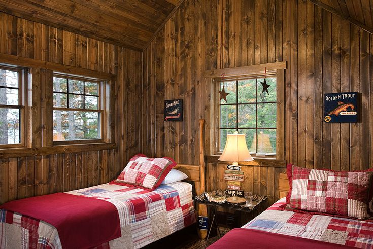 10 best images about knotty pine bedrooms on Pinterest ...