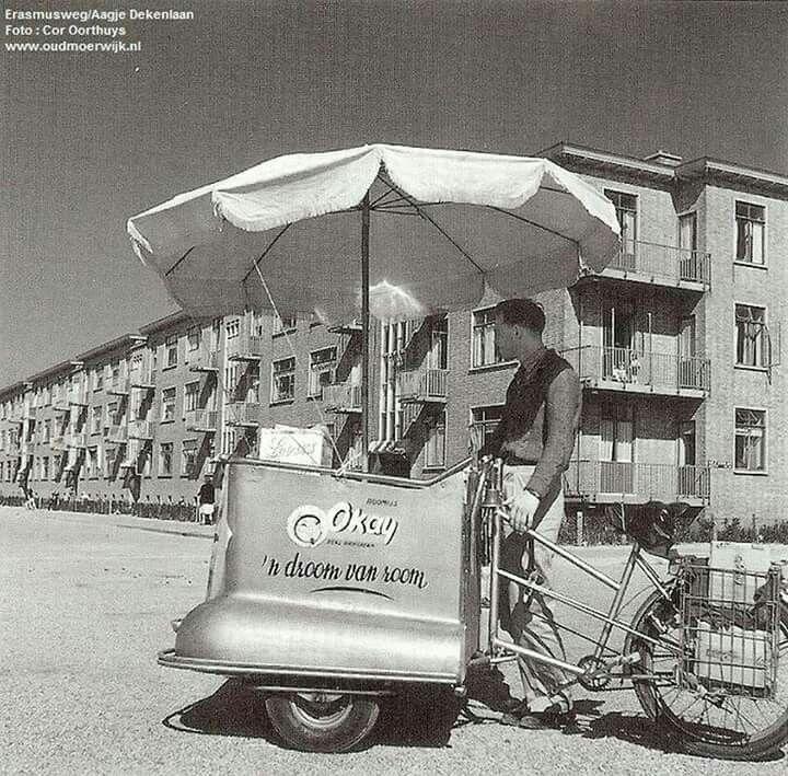 IJscoman...Morgenstond, Den Haag. Jaren '60