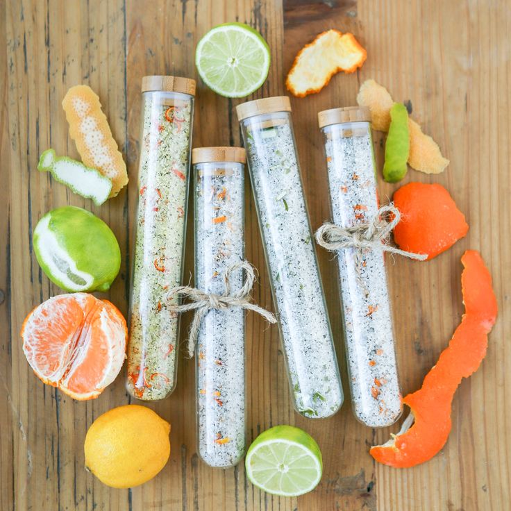 Citrus Green Tea Bath Salts Recipe
