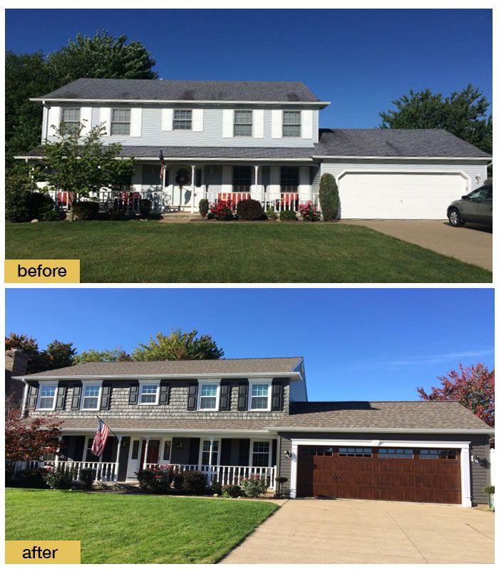 Home Exterior Makeover: 159 Best Images About Before And After Exterior Makeovers
