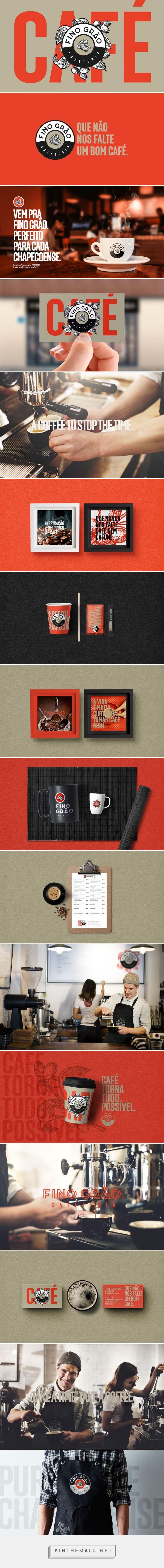 Fino Grão Cafe Branding by Triocom Graphic Design | Fivestar Branding Agency – Design and Branding Agency & Curated Inspiration Gallery