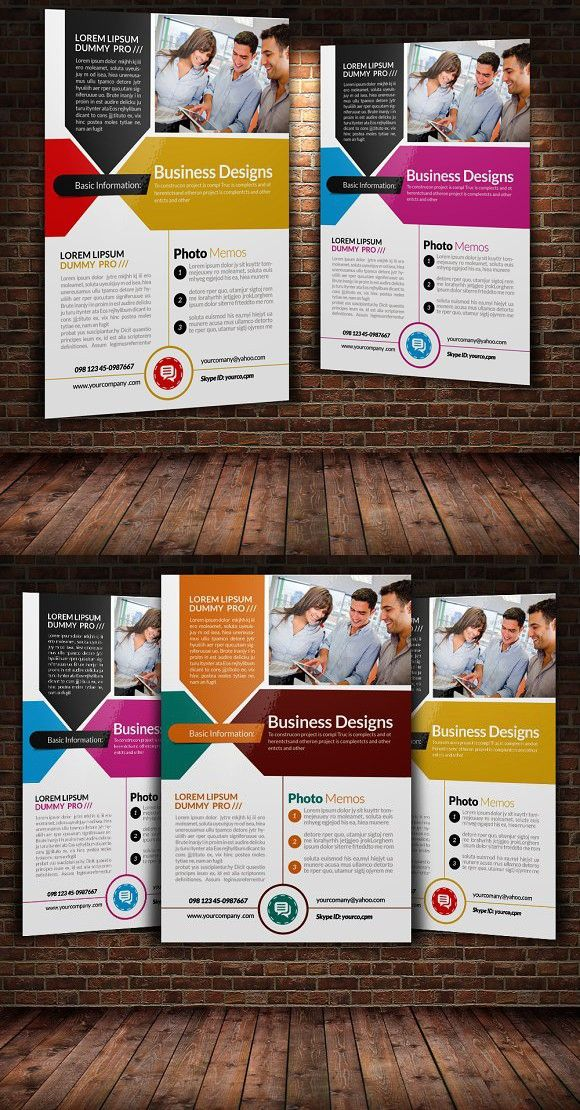 business flyer template flyers design pinterest business flyer