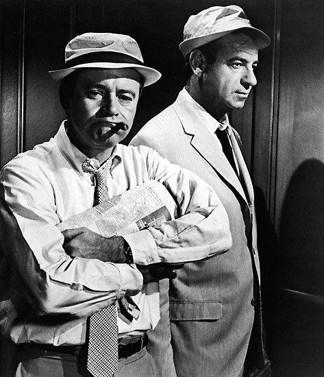 Jack Lemmon and Walter Matthau. S)