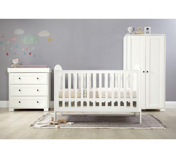 Buy M&P Harrow 3 Piece furniture Set - White at Argos.co.uk,