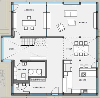 148 best ❤Housebuilding❤ images on Pinterest Architecture - küche mit kochinsel grundriss