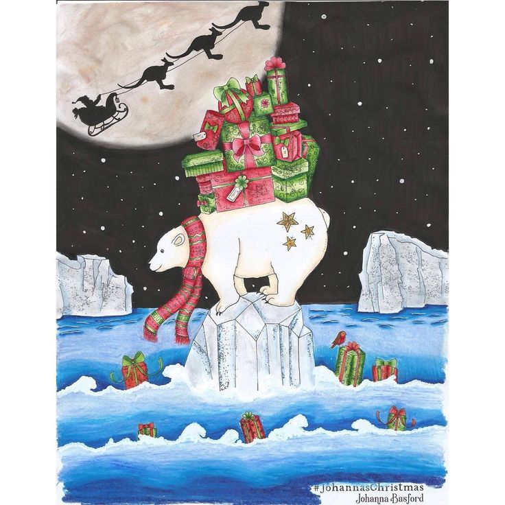 My Entry In Johannabasford Johannaschristmas Competition Prismacolor Premier POSCA Pens Glitter