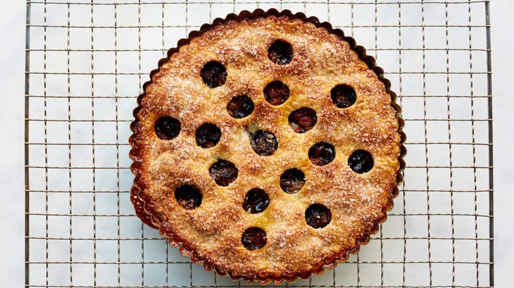 This simple tart is loaded with golden and dark raisins and flavored with a hint of lemon. Martha made this recipe on episode 509 of Martha Bakes.