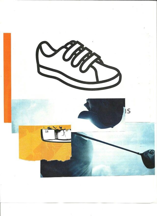 Shoe collage by Liz Matha