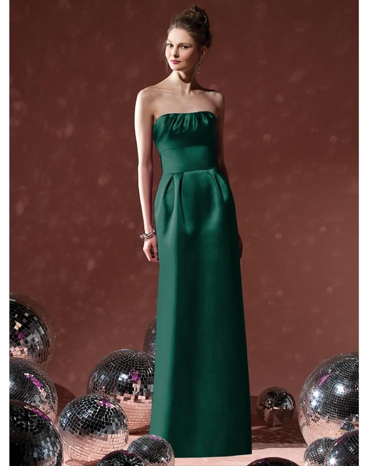2013 NEW SATIN PLEATS RIBBON LONG COLUMN BRIDESMAID DRESS the new design prom dresses the new design prom dresses the new design prom dresses
