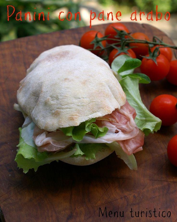 Pane arabo con pasta madre per un panino perfetto e di Modigliani e les femmes.
