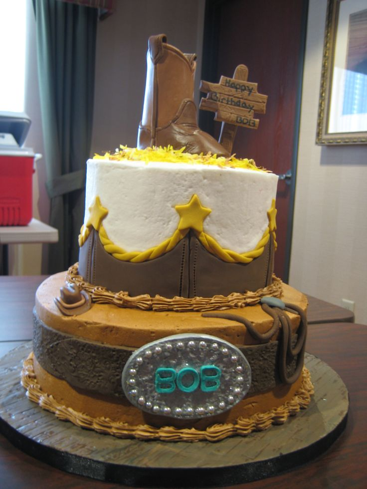 157 Best Images About Amazing Cakes Cowboy Themed On