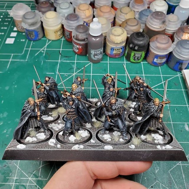 Sworn Brothers Of The Night S Watch By Dark Sword Minis Asoiaf