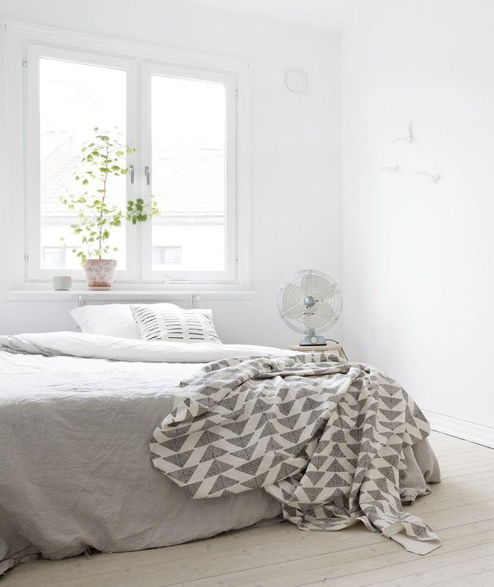 White and light wood - via cocolapinedesign.com