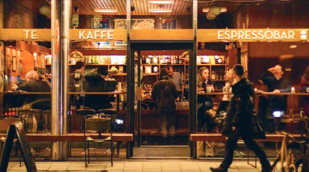 Fuglen, Oslo Norway - Beautiful retro coffeshop