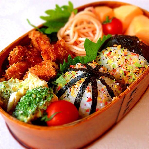 Gorgeous bento お弁当