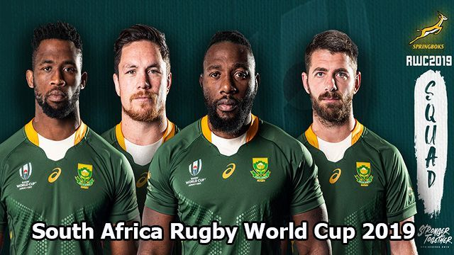 South Africa Rugby World Cup 2019 Tv Channel And Live Stream Guide South Africa Rugby Rugby World Cup Springboks Rugby South Africa