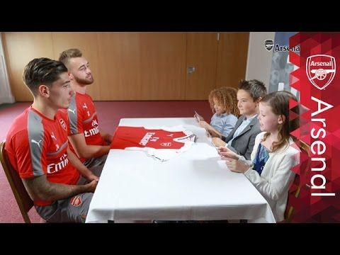 Our Junior Gunners panel grill Calum Chambers, Hector Bellerin, Francis Coquelin and Nacho Monreal to find out which of the four deserve to have their name o...